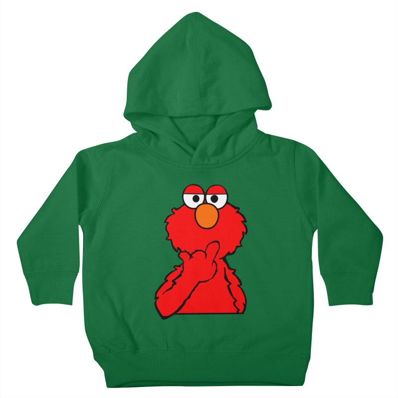 Elmo is Out of Fucks to Give Kids Toddler Pullover Hoody by oneweirddude's Artist Shop