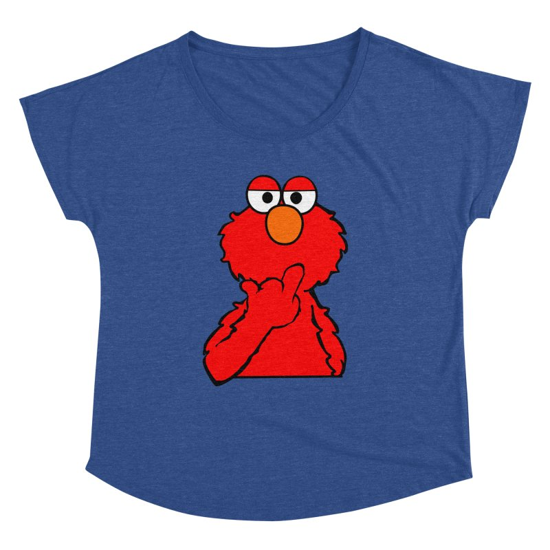 Elmo is Out of Fucks to Give Women's Dolman by oneweirddude's Artist Shop