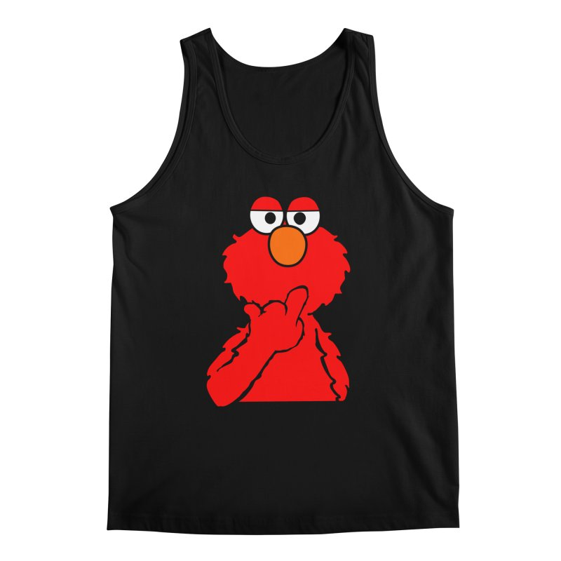 Elmo is Out of Fucks to Give Men's Tank by oneweirddude's Artist Shop
