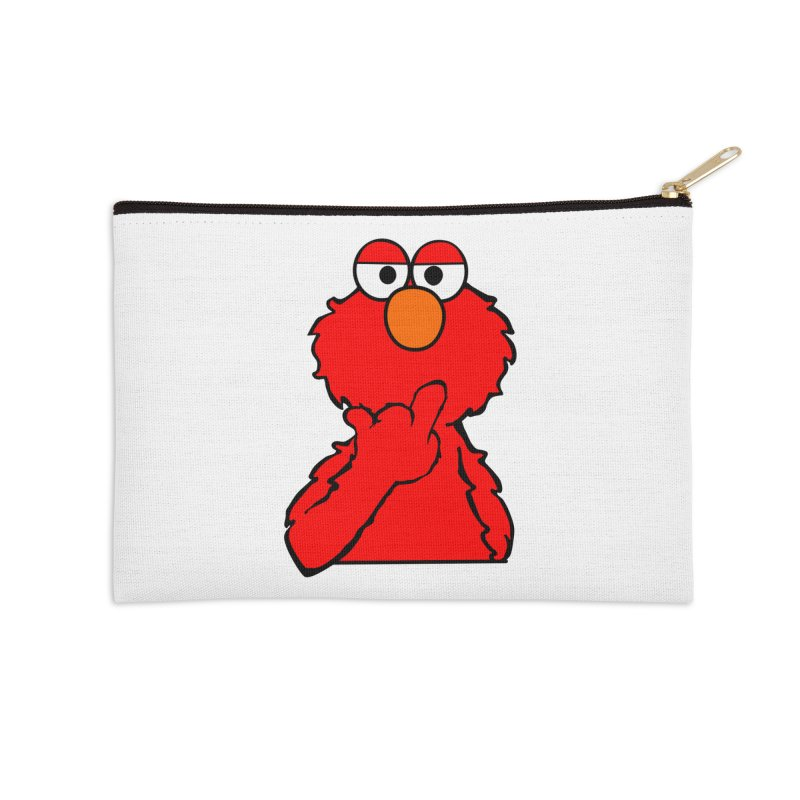 Elmo is Out of Fucks to Give Accessories Zip Pouch by oneweirddude's Artist Shop