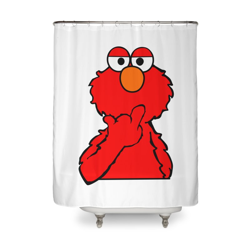 Elmo is Out of Fucks to Give Home Shower Curtain by oneweirddude's Artist Shop