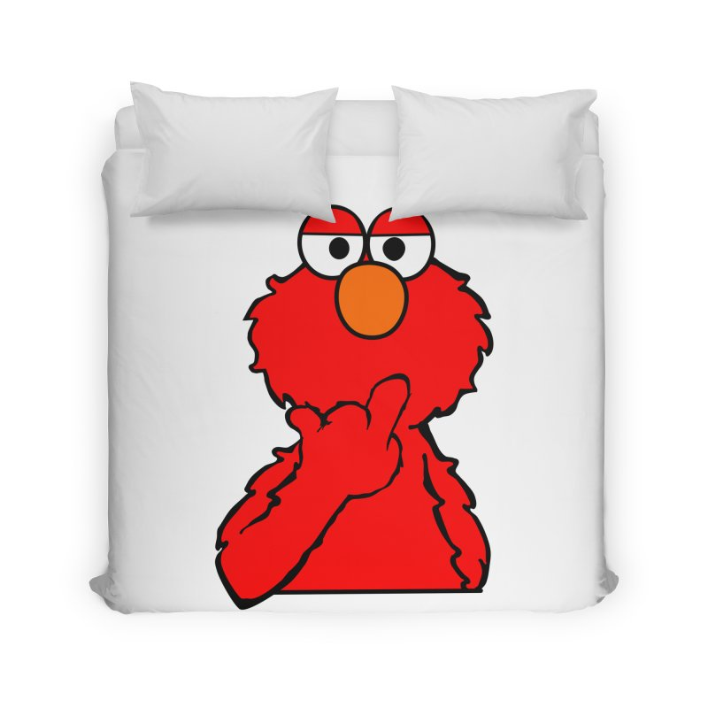Elmo is Out of Fucks to Give Home Duvet by oneweirddude's Artist Shop