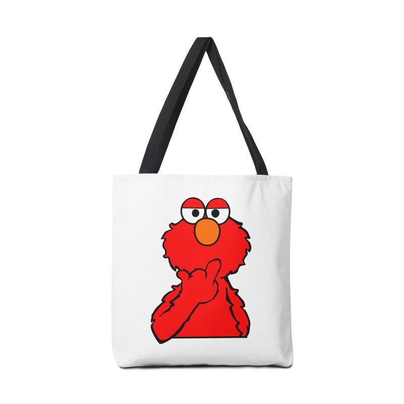 Elmo is Out of Fucks to Give Accessories Tote Bag Bag by oneweirddude's Artist Shop