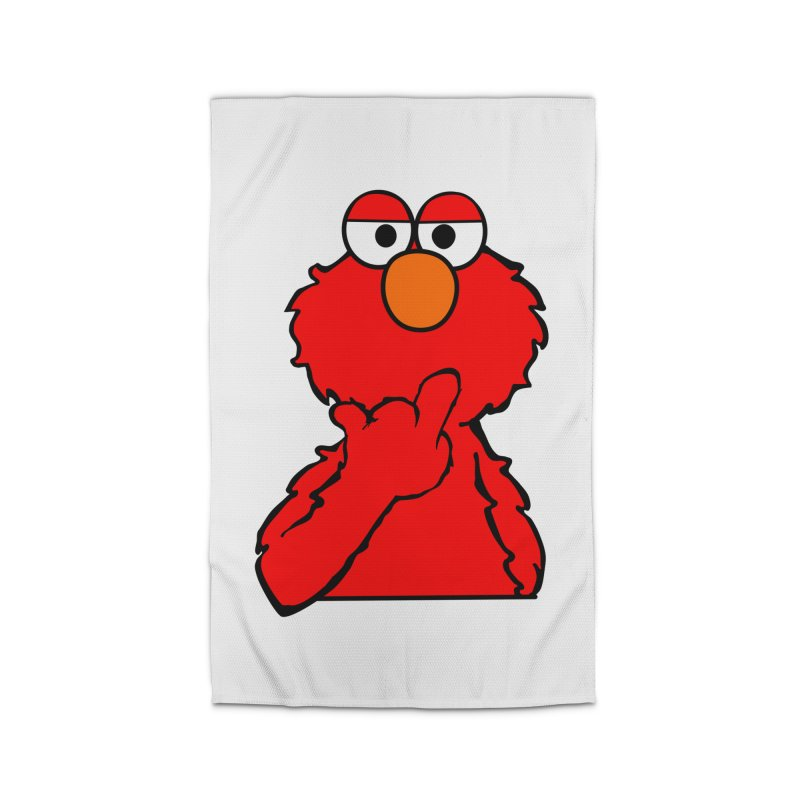 Elmo is Out of Fucks to Give Home Rug by oneweirddude's Artist Shop