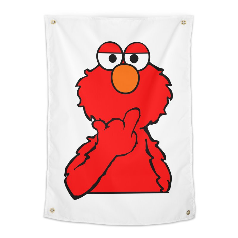 Elmo is Out of Fucks to Give Home Tapestry by oneweirddude's Artist Shop