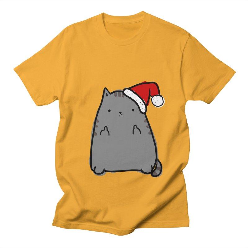 Christmas Kitty Women's Unisex T-Shirt by oneweirddude's Artist Shop