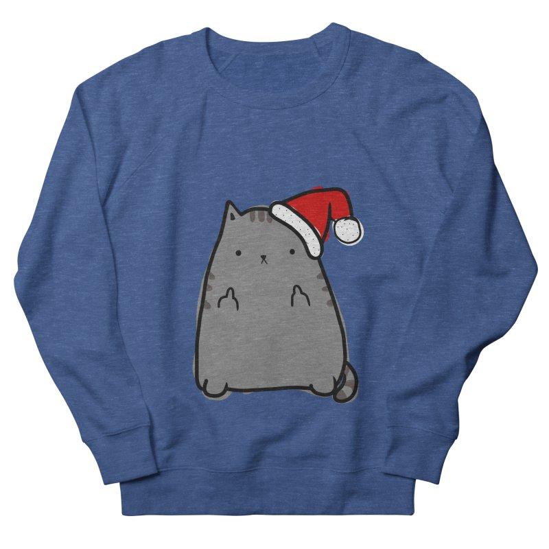 Christmas Kitty Women's Sweatshirt by oneweirddude's Artist Shop