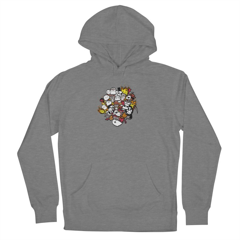 Cats and Friends Women's Pullover Hoody by oneweirddude's Artist Shop