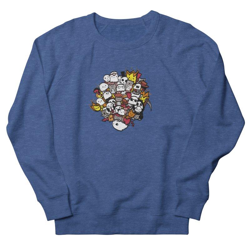 Cats and Friends Men's Sweatshirt by oneweirddude's Artist Shop