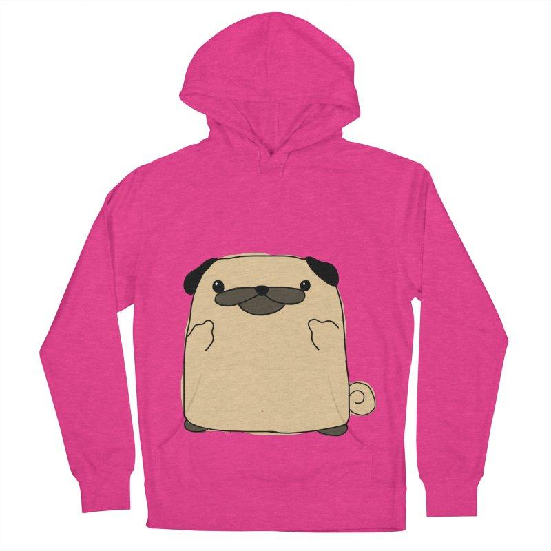 Pug Double Bird Women's Pullover Hoody by oneweirddude's Artist Shop
