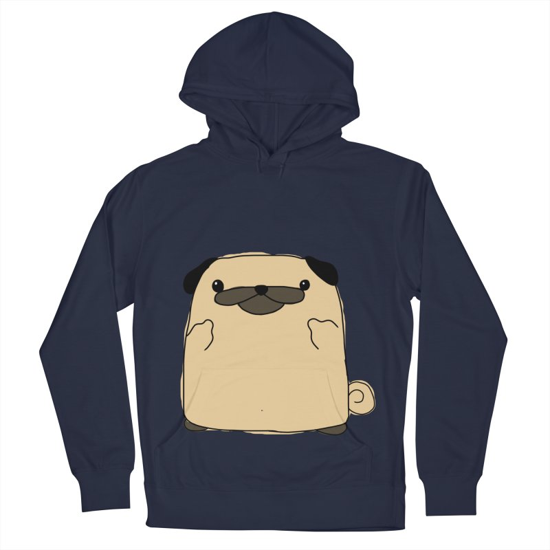 Pug Double Bird Women's Pullover Hoody by oneweirddude's Artist Shop