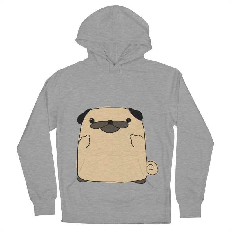Pug Double Bird Men's Pullover Hoody by oneweirddude's Artist Shop