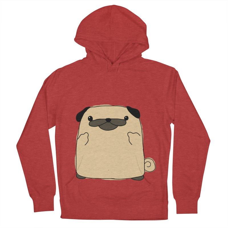 Pug Double Bird Men's Pullover Hoody by oneweirddude's Artist Shop