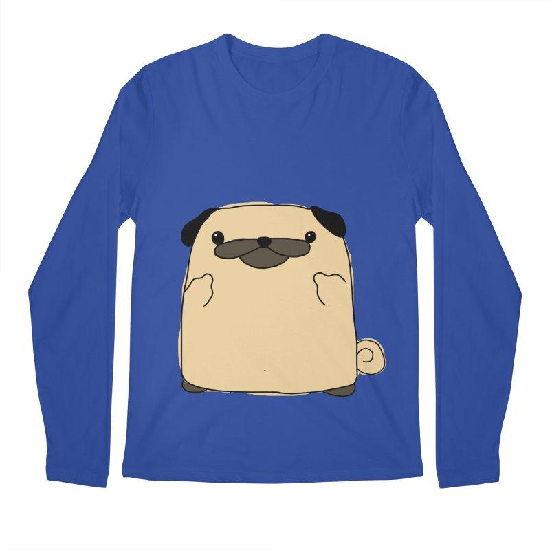 Pug Double Bird Men's Longsleeve T-Shirt by oneweirddude's Artist Shop