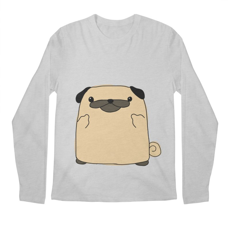 Pug Double Bird Men's Longsleeve T-Shirt by oneweirddude's Artist Shop