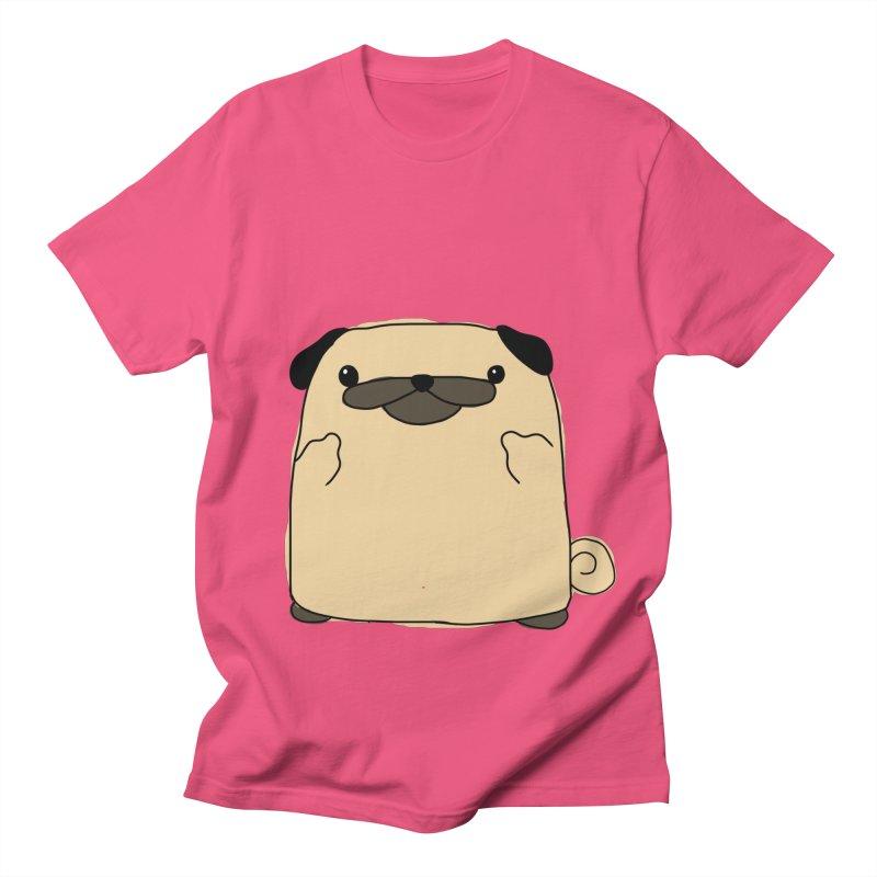 Pug Double Bird Women's Unisex T-Shirt by oneweirddude's Artist Shop