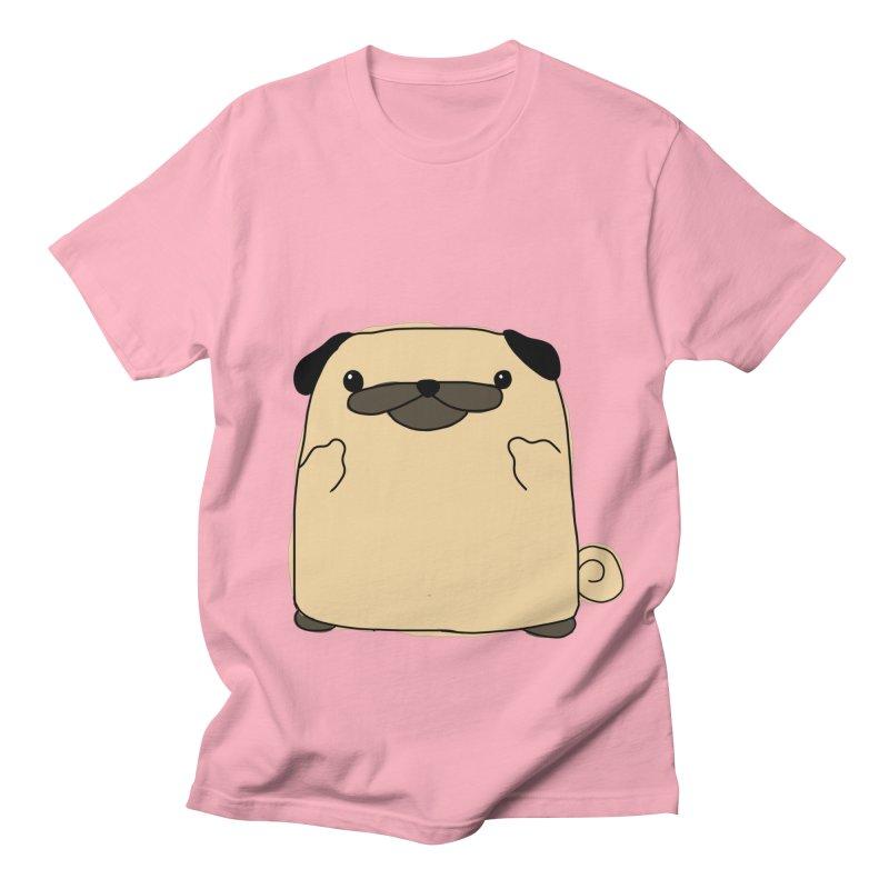 Pug Double Bird Women's Regular Unisex T-Shirt by oneweirddude's Artist Shop