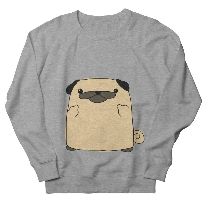 Pug Double Bird Men's Sweatshirt by oneweirddude's Artist Shop