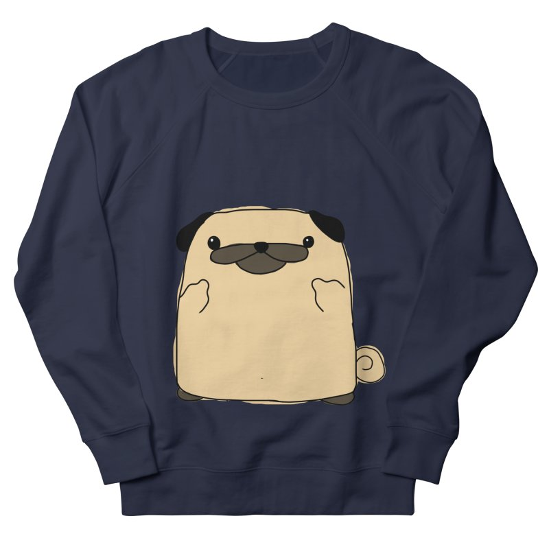 Pug Double Bird Men's Sweatshirt by oneweirddude's Artist Shop