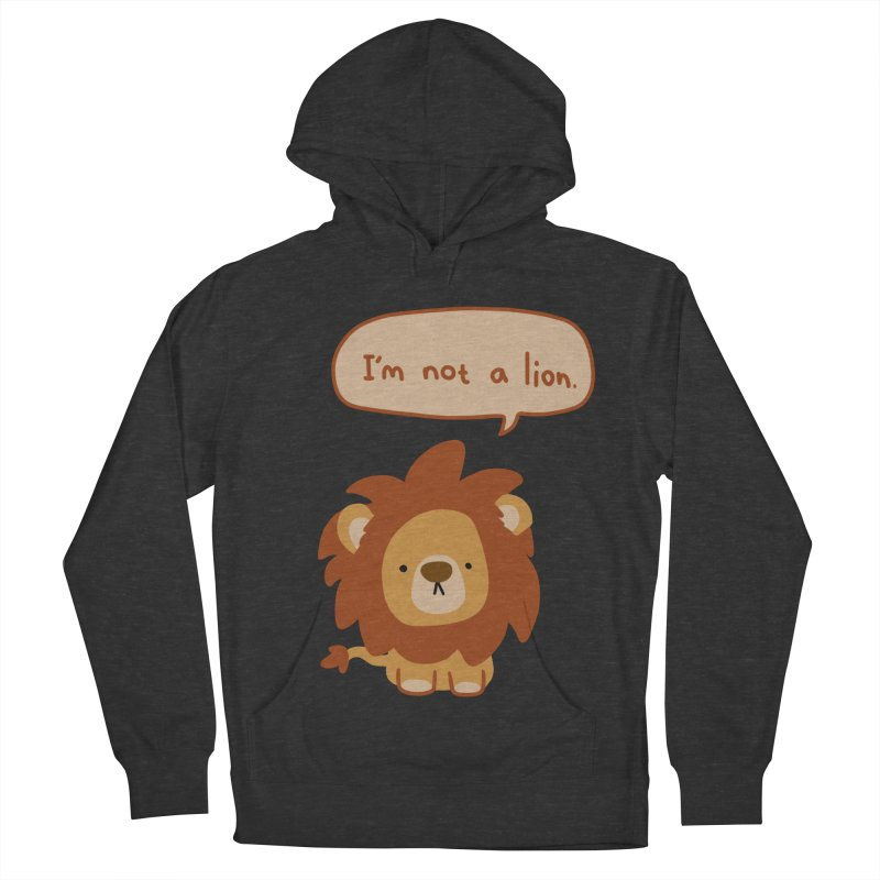 Lyin' Lion Men's Pullover Hoody by oneweirddude's Artist Shop