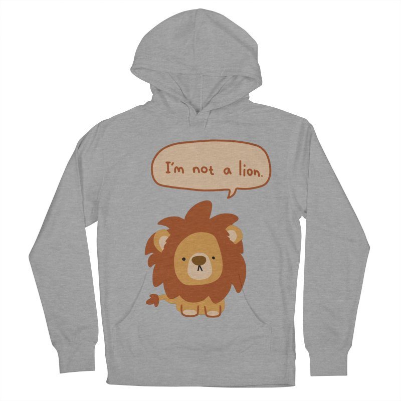 Lyin' Lion Men's Pullover Hoody by oneweirddude's Artist Shop