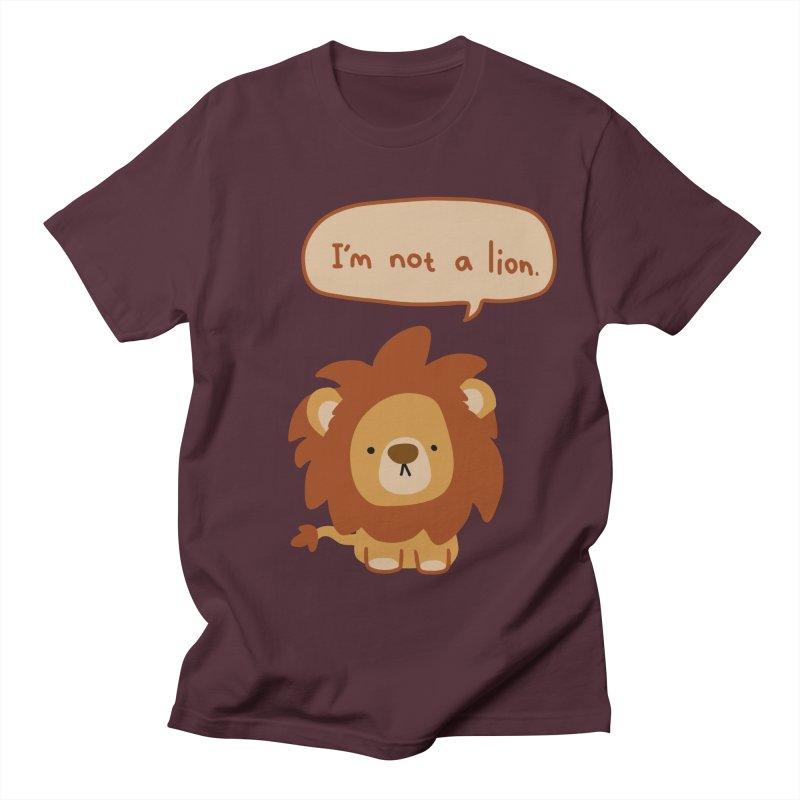 Lyin' Lion Women's Unisex T-Shirt by oneweirddude's Artist Shop