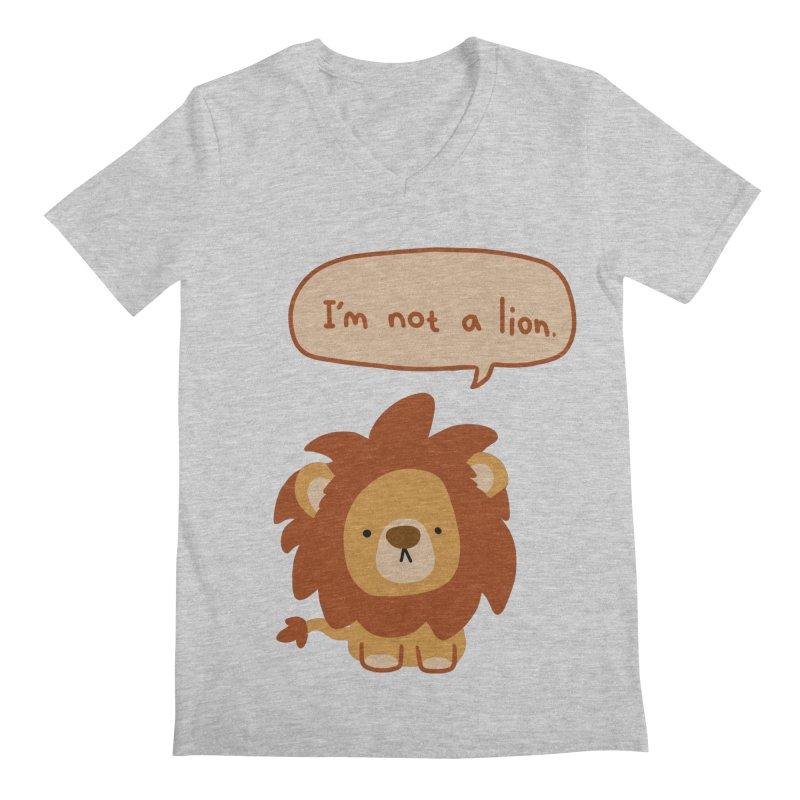 Lyin' Lion   by oneweirddude's Artist Shop
