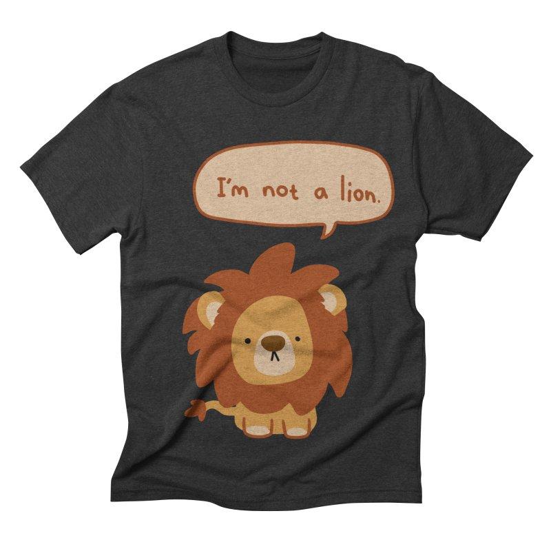 Lyin' Lion Men's Triblend T-shirt by oneweirddude's Artist Shop