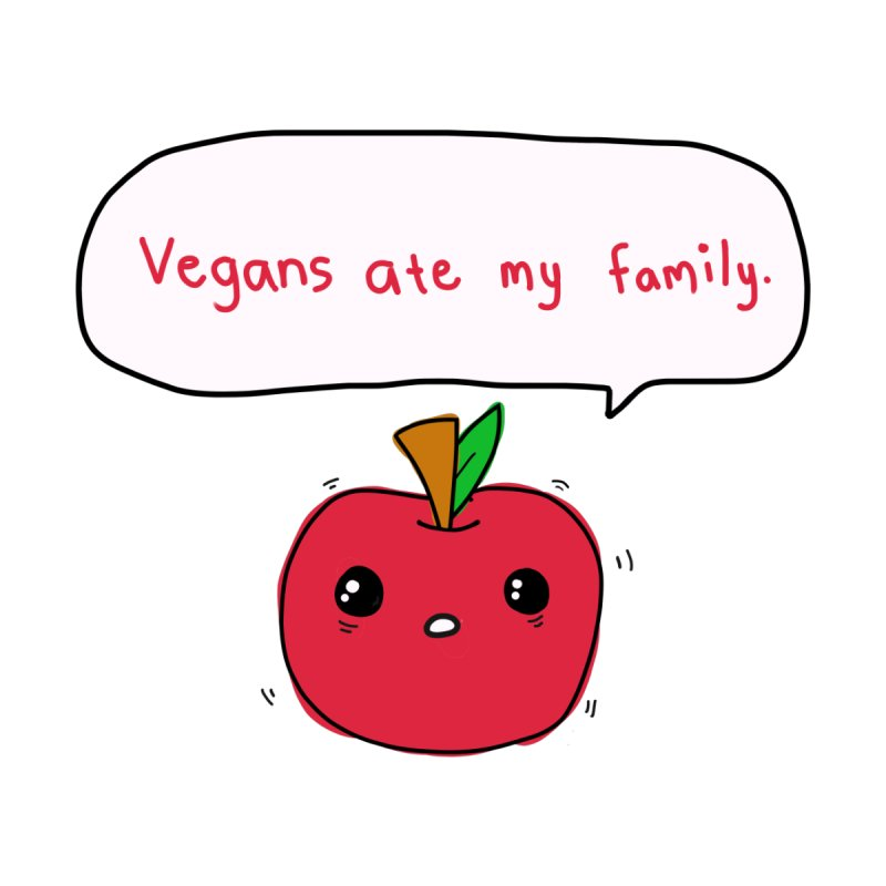 Vegans Ate My Family Men's Tank by oneweirddude's Artist Shop