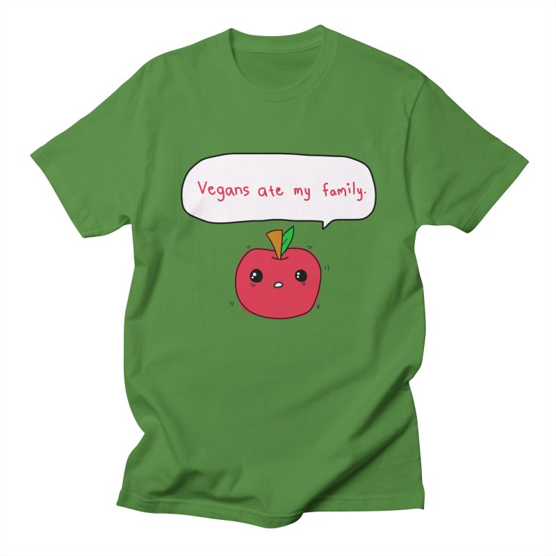 Vegans Ate My Family   by oneweirddude's Artist Shop