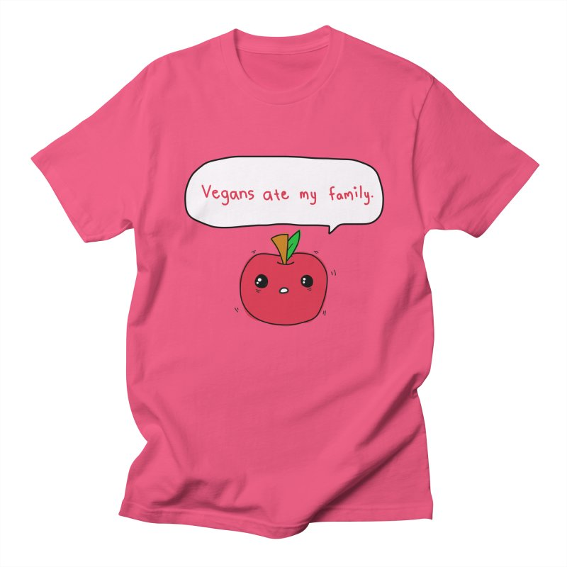 Vegans Ate My Family Women's Unisex T-Shirt by oneweirddude's Artist Shop
