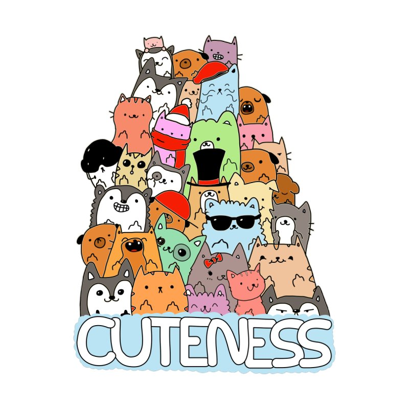 Cuteness Women's T-Shirt by oneweirddude's Artist Shop