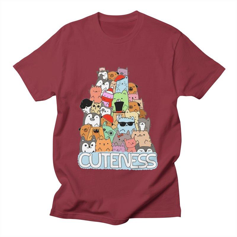 Cuteness Women's Unisex T-Shirt by oneweirddude's Artist Shop