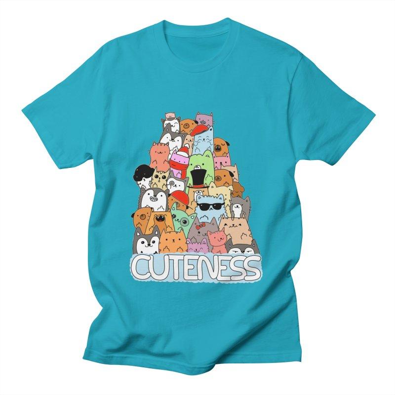 Cuteness Women's Regular Unisex T-Shirt by oneweirddude's Artist Shop