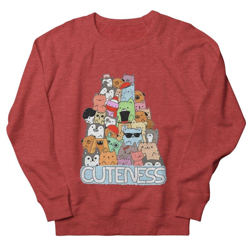 Cuteness Men's Sweatshirt by oneweirddude's Artist Shop
