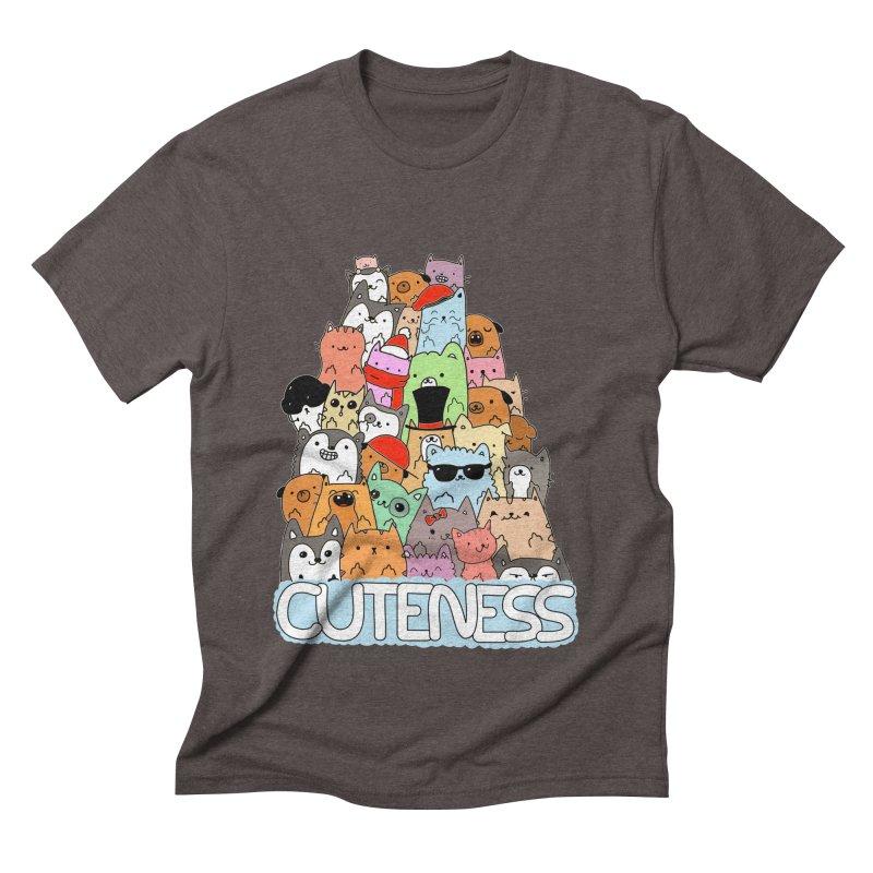 Cuteness Men's Triblend T-Shirt by oneweirddude's Artist Shop