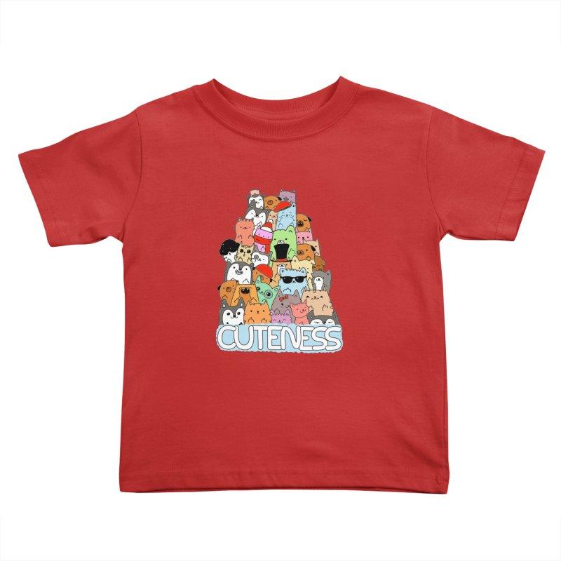 Cuteness Kids Toddler T-Shirt by oneweirddude's Artist Shop