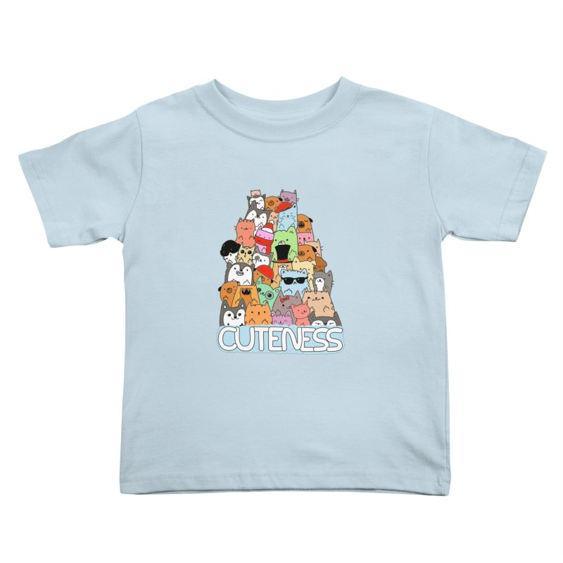 Cuteness Kids Toddler T-Shirt by oneweirddude's Artist Shop