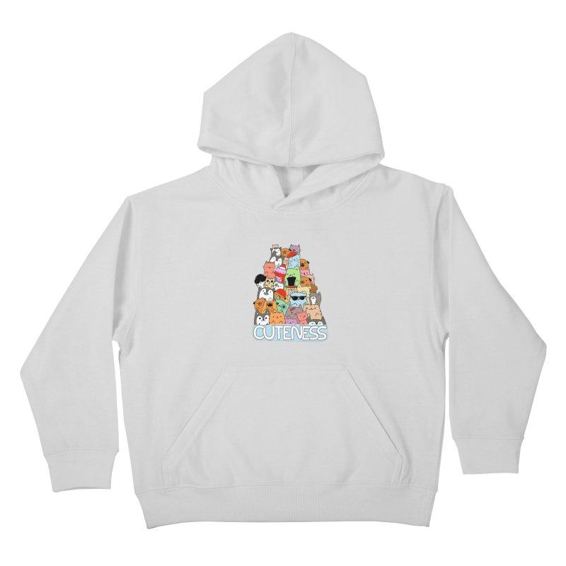 Cuteness Kids Pullover Hoody by oneweirddude's Artist Shop