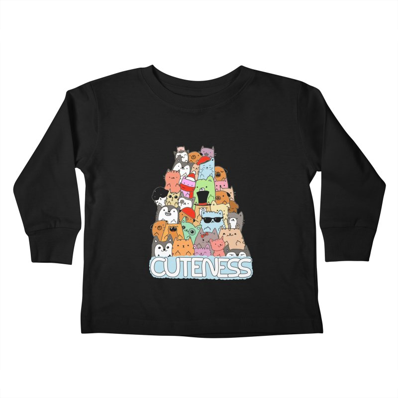 Cuteness Kids Toddler Longsleeve T-Shirt by oneweirddude's Artist Shop