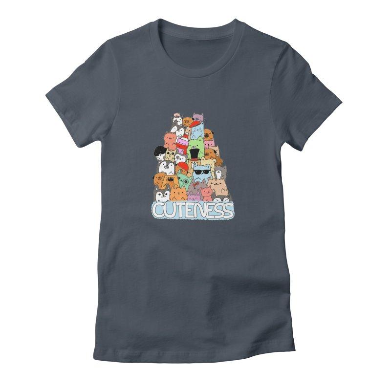 Cuteness Women's T-Shirt by oneweirddude's Artist Shop