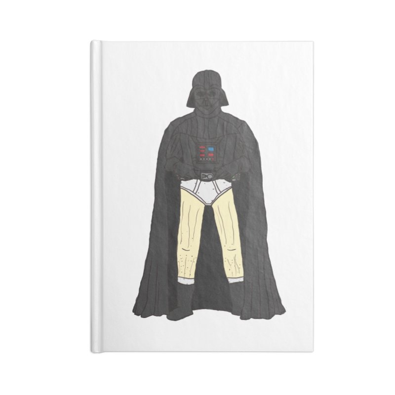 Dark Lord Working from Home Accessories Notebook by oneweirddude's Artist Shop