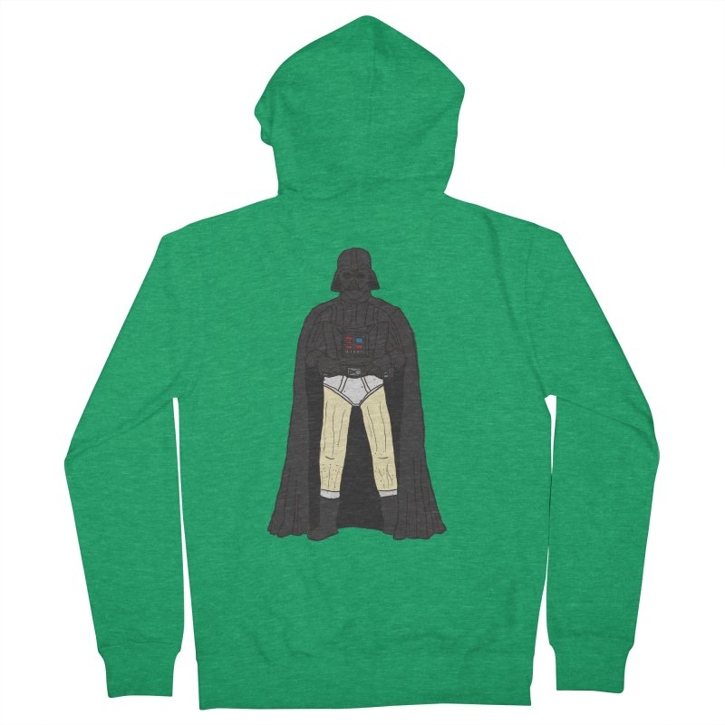Dark Lord Working from Home Men's Zip-Up Hoody by oneweirddude's Artist Shop