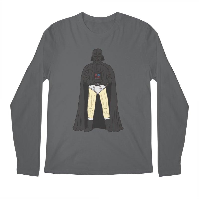 Dark Lord Working from Home Men's Longsleeve T-Shirt by oneweirddude's Artist Shop