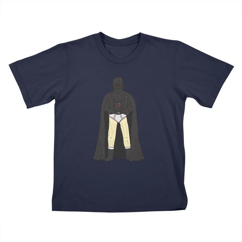 Dark Lord Working from Home Kids T-Shirt by oneweirddude's Artist Shop