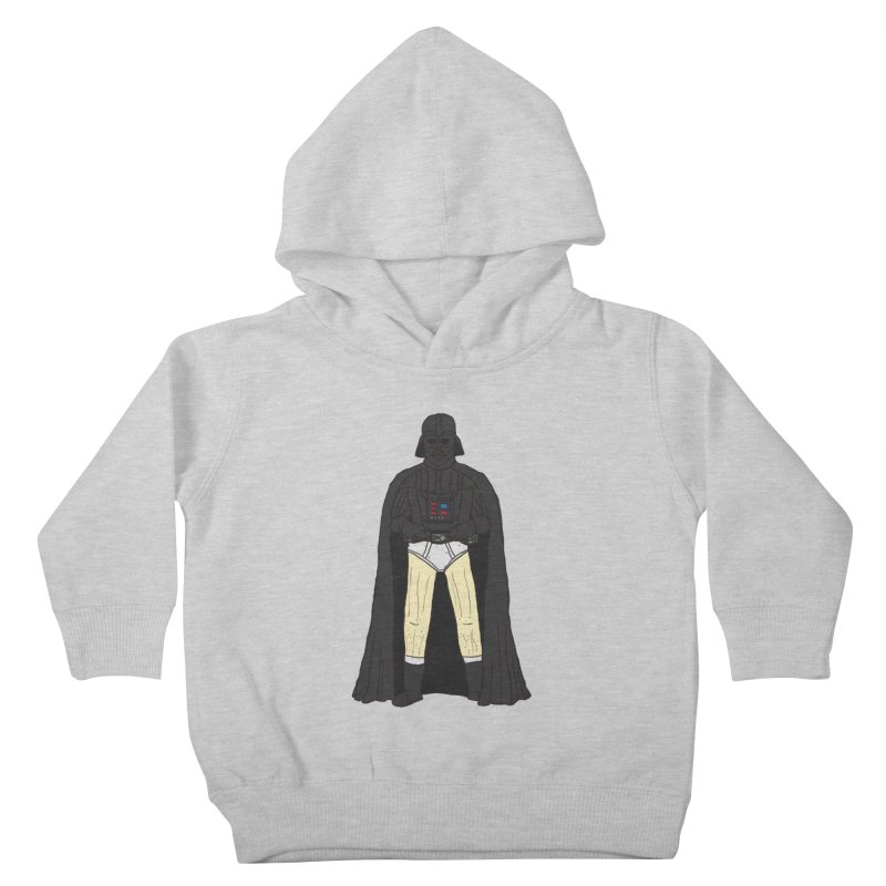 Dark Lord Working from Home Kids Toddler Pullover Hoody by oneweirddude's Artist Shop