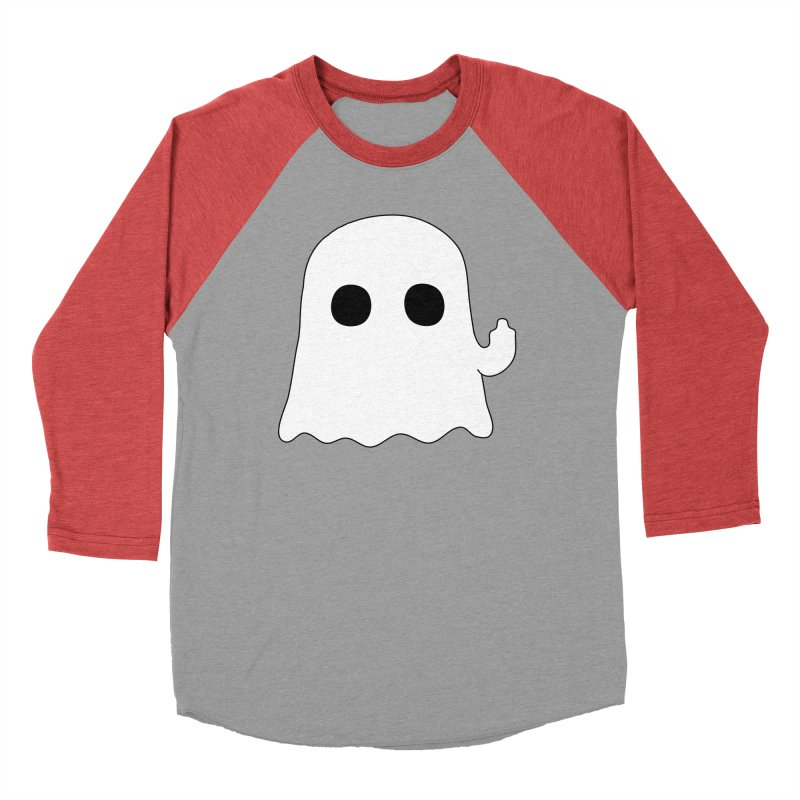 Boo Men's Baseball Triblend Longsleeve T-Shirt by oneweirddude's Artist Shop