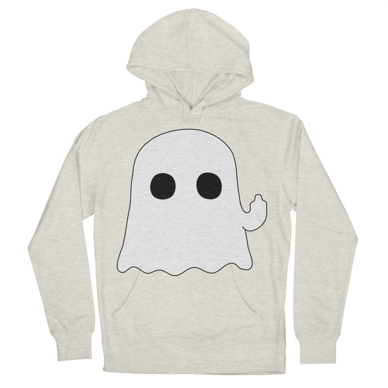Boo Women's French Terry Pullover Hoody by oneweirddude's Artist Shop