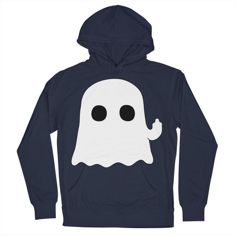 Boo Men's French Terry Pullover Hoody by oneweirddude's Artist Shop