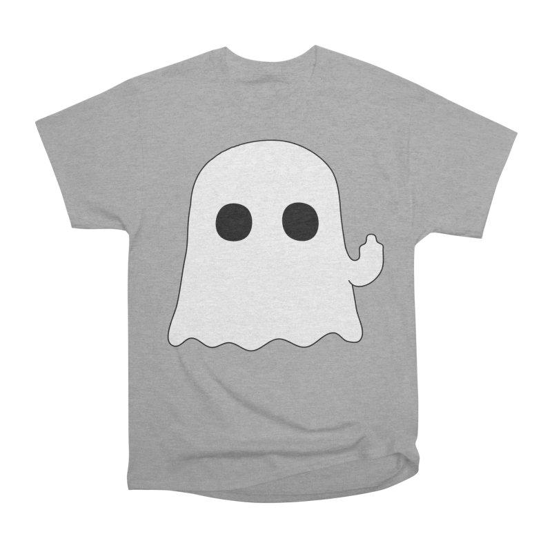 Boo Men's Heavyweight T-Shirt by oneweirddude's Artist Shop